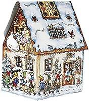 Calendario Avvento Casa Hansel Gretel 17x13x25 cm In Cartoncino Con Finestrelle