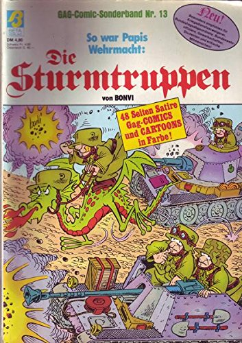 GAG-Comic-Sonderband Nr. 13 Die Sturmtruppen