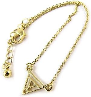 Les Trésors De Lily [N8130] - Bracciale 'Triangle' d'oro.