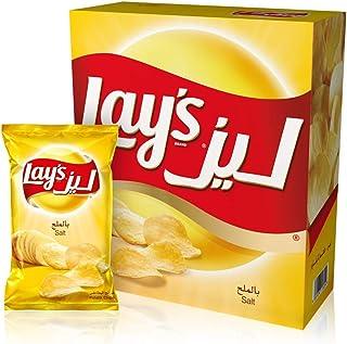 Lays Salt Potato Chips 23 gm x 14