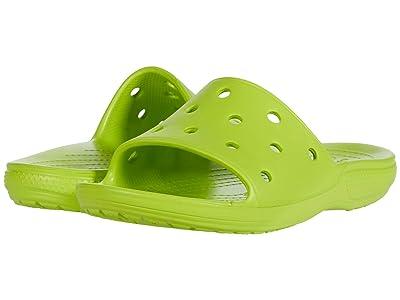 Crocs Classic Slide (Lime Punch) Shoes