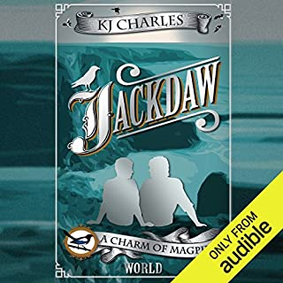 Jackdaw                   By:                                                                                                                                 K. J. Charles                               Narrated by:                                                                                                                                 Cornell Collins                      Length: 6 hrs and 27 mins     24 ratings     Overall 4.6
