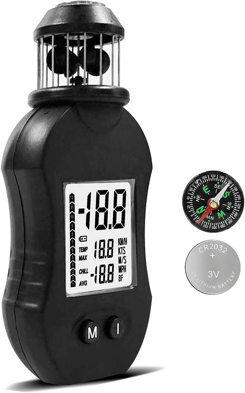 N \ A Handheld Digital Anemometer It is Recommended very popular Wind LCD Gauge Meter Speed Ai