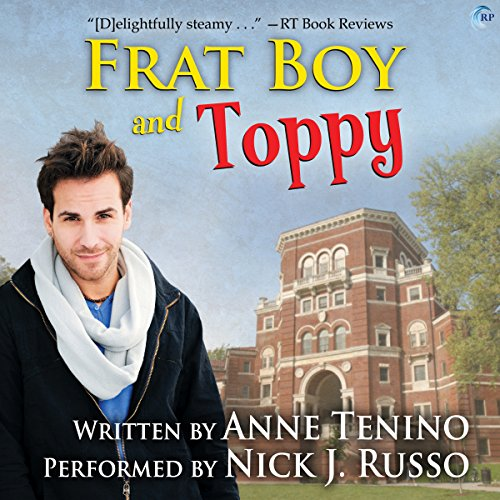 Frat Boy and Toppy audiobook cover art