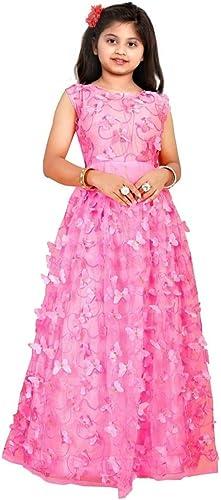 Girl s A Line Maxi Gown Dress Net