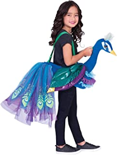 amscan RPE - Disfraz infantil de pavo real para equitación