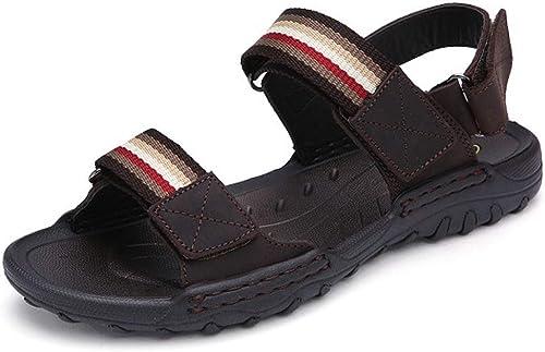 Tanxianlu Hommes Sandales été Hommes Chaussures Pantoufles Chaussures de Plage pour Hommes Sandales