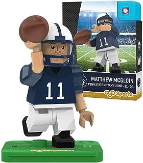OYO NCAA Penn State Nittany Lions Matthew McGloin Gen 2 Player Mini Figure, Small, Black
