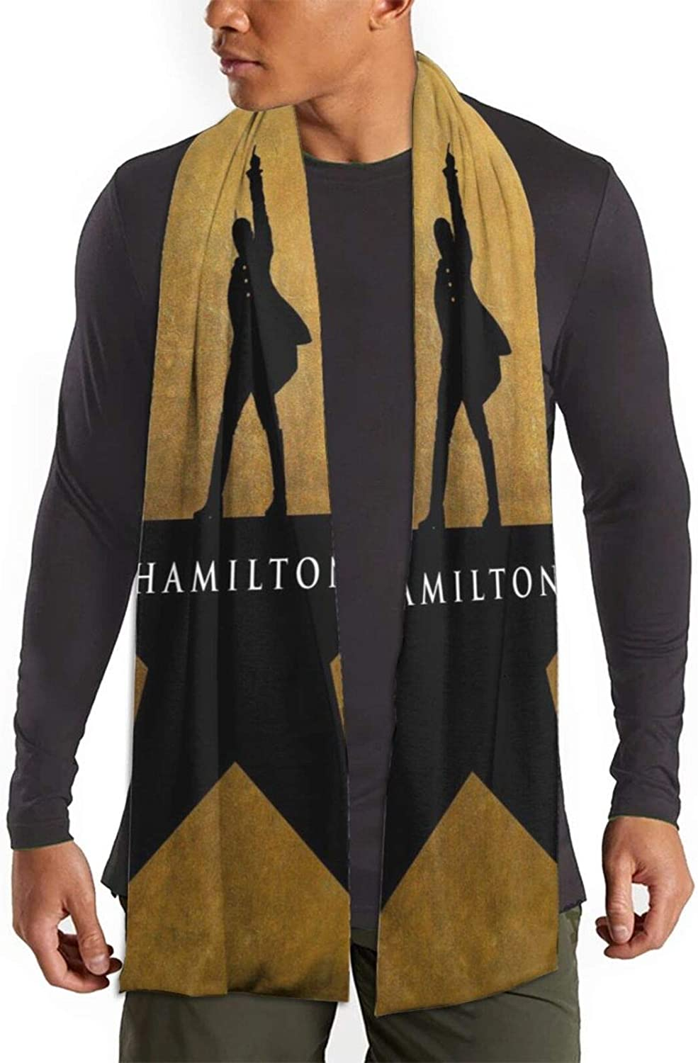 Hamilton American Musicals Ultra-Cheap Deals Long Fixed price for sale Scarf Winter Fashion Uni Scarves
