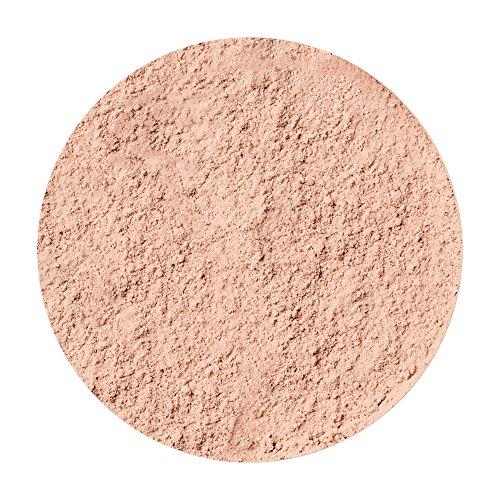 Ellen Betrix Loose Powder Transparent Natural 1, Transparentes Fixing Powder für ein mattes Finish, Mit praktischer Puderquaste und cleverem Dosierer, 15 g