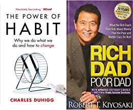 The Power of Habit: Why We Do What We Do, and How to Change+Rich Dad Poor Dad: What the Rich Teach Their Kids About Money ...