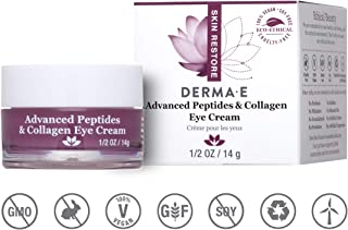DERMA E Advanced Peptides and Collagen Eye Cream, 1/2oz