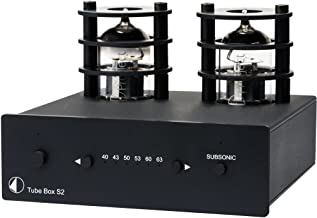 Pro-Ject Tube Box S2 Phono Preamplifier - Black
