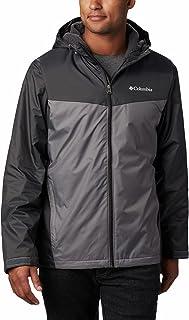 Columbia Men's Glennaker Sherpa Lined Rain Jacket, Waterproof