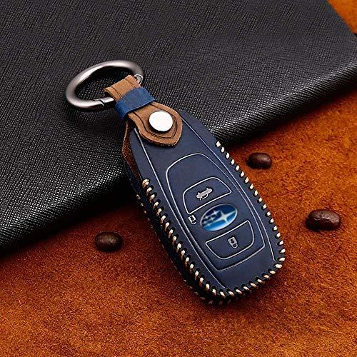 mächtig Autoschlüsseletui Autoschlüsseletui für Subaru Autoschlüsseletui Premium Leder
