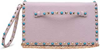 Urban Expressions Indie Pebbled Vegan Leather Clutch