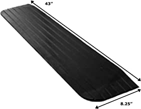 Foghorn Construction- 1 Inch High Threshold Ramp for Door, 43 Wide, Wheelchair, Doorway Ramps and Any Opening Where The sill has a Tripping Hazard in The Way. Heavy and Strong for Powered Wheelchairs