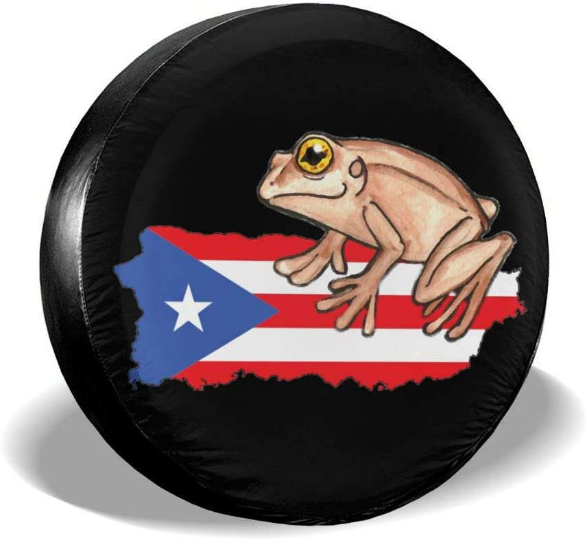 XTing Coqui Great interest Puerto Charlotte Mall Rico Universal Cover C Tire Wheel Spare