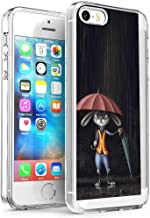 DISNEY COLLECTION Cell Phone Case Fit Apple iPhone 5/5S/SE [5.5-Inch] Judy Hopps My Neighbor Totoro Nick Wilde Zootopia