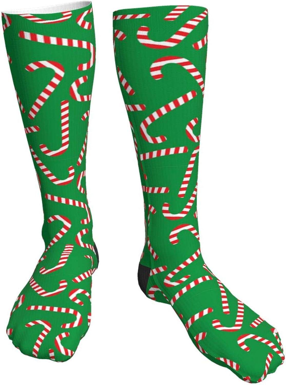 Christmas Tree Snowflakes Elk Novelty Socks Crew Crazy Bombing new work Great interest High Knee