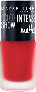 Maybelline New York Color Show Intense Nail Paint, Flaming Orange, 6ml