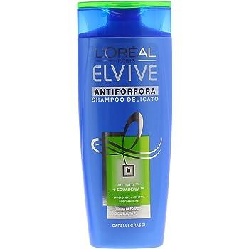 Elvive Champú anticaspa graso, 250 ml [Pack de 4]: Amazon.es: Belleza