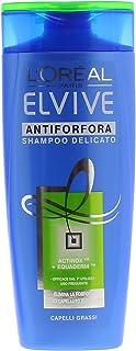 L'Oréal Paris Elvive Shampoo Antiforfora Capelli Grassi, 250ml