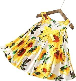 Áo quần dành cho bé gái – Girls Dress Cotton Sleeveless Floral Sundress Size 2-7 Years