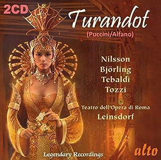 Puccini : Turandot. Nilsson, Björling, Tebaldi, Leinsdorf.