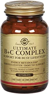 Solgar - Ultimate B+C Complex Stress Fo, 60 tablets