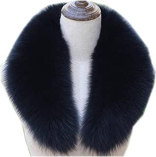 2018 Hot New Popular Genuine Real Fox Fur Collar Scarf Big Fur Collar