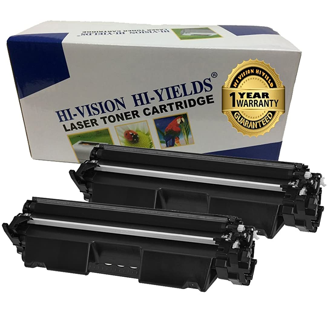 HI-VISION HI-YIELDS Compatible Toner Cartridge Replacement for HP CF230A  ( Black , 2 pk )