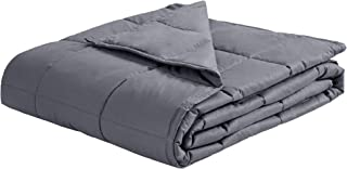 puredown Weighted Blanket Breathable Cotton Cover with Glass Beads Heavy Blanket 41