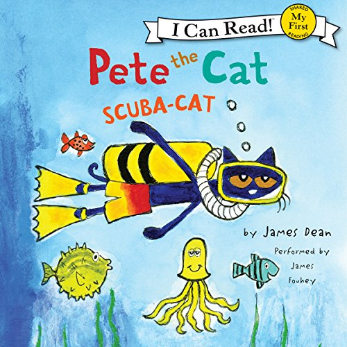 Pete the Cat - Scuba-Cat cover art