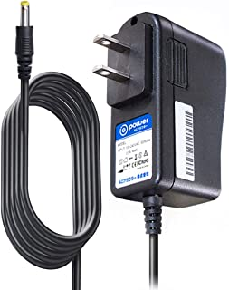 T-Power 9V (6.6ft Long Cable) Ac Dc Adapter Compatible with