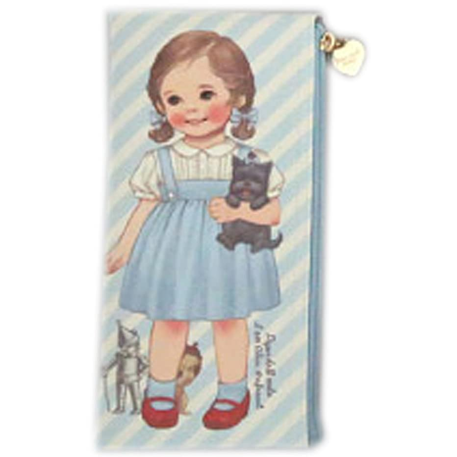 Afrocat Paper Doll Mate New Pen Case Storybook Pencils Beauty Brushes Multi Purpose Pouch