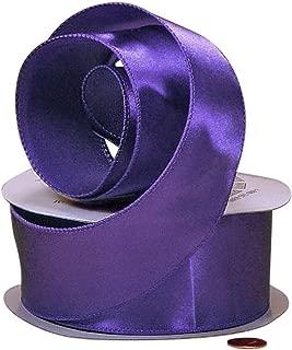 Purple Haze Cast-Over Wired Satin Ribbon, 1-1/2