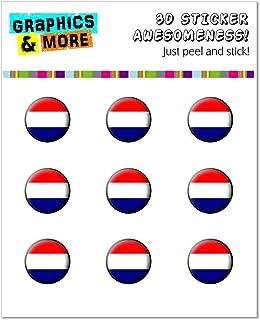 ملصقات الجرافيك والمزيد هولندا العلم هولندا ملصقات زر تناسب ابل ايفون 4/4S/5/5C/5S ، iPad ، iPod Touch - التعبئة والتغليف ...