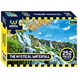 ALL UNIQUE PIECES: The Webby The Mystical Waterfall Jigsaw Puzzle is specially designed with 252 unique interlocking pieces EASY TO MAKE: This jigsaw puzzle has been designed with alphabets 'A', 'B'… printed on the back for different regions making i...
