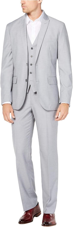 I-N-C Mens Regular Fit Two Button Blazer Jacket