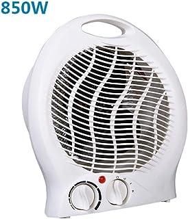 GYF Calefactor eléctrico 850W Calefactor Eléctrico Blanco Pequeña Mini Calentador Casa Oficina Calentador El Ahorro De Energía Cinturón Portátil