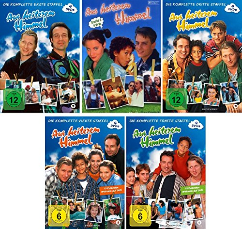 Staffel 1-5 (19 DVDs)