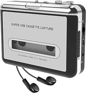 DIGITNOW! Reproductor USB de casete para convertirlos a MP3