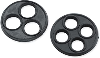 Late Style Petcocks - Replacement Vavle Gasket 4-Hole, Manufacturer: Bikers Choice, PETCOCK GASKET 4-HOLE