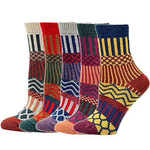 SWEDREAM Calcetines Térmicos Mujer Invierno (5 pares)