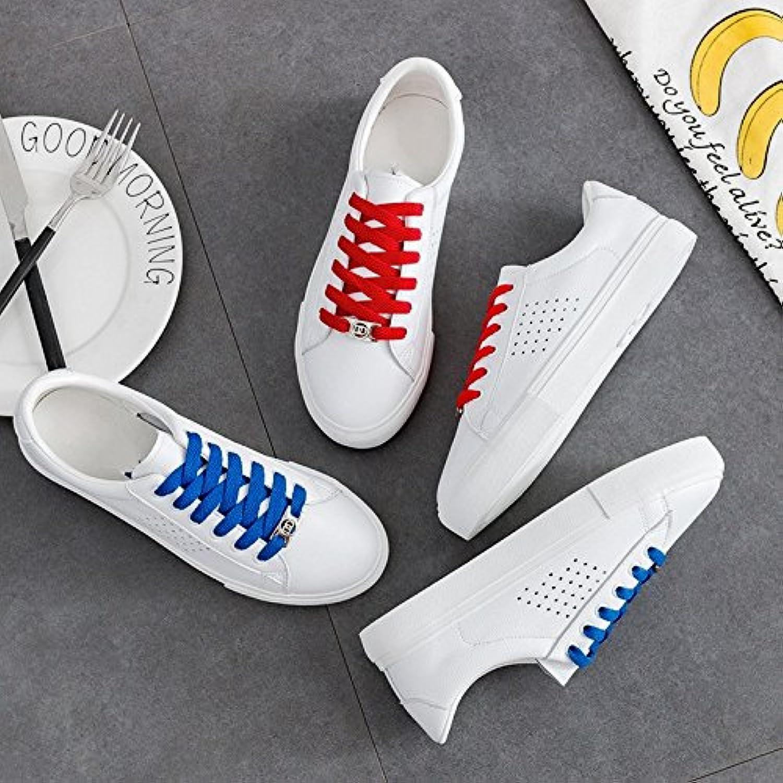 NGRDX&G Damen Sneaker Damenschuhe Damen Weiß Sneakers Leder