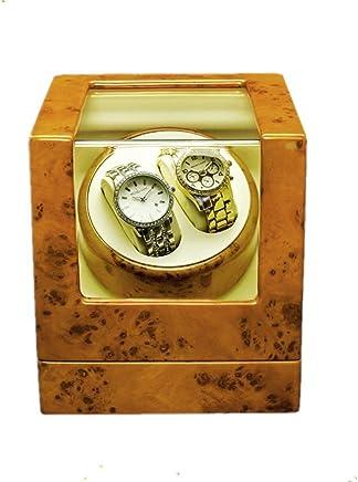 SHISHANG Rectangle Mute Automatische Doppel Uhr Winder mit Schloss Dual Watch Rotator Uhr Aufbewahrungsbox B078QZBSV9     | Sale Online