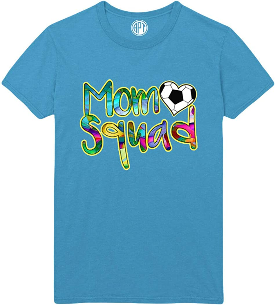Mom Squad Soccer Support Printed T-Shirt