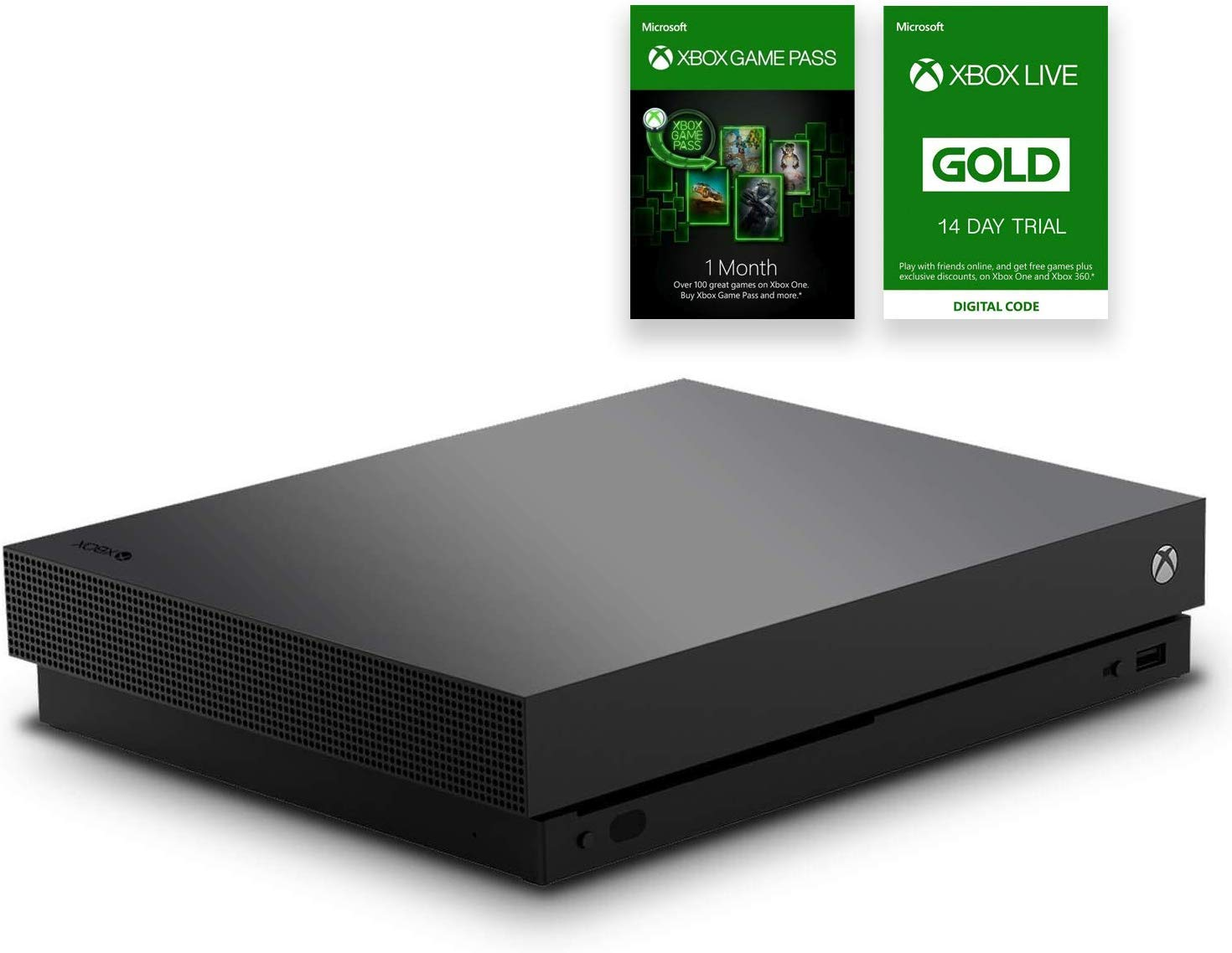 Microsoft Xbox One X - Consola de 1 TB, color negro (certificado): Amazon.es: Videojuegos