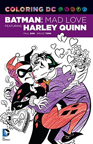 61ahumiqP+L Harley Quinn Coloring Books